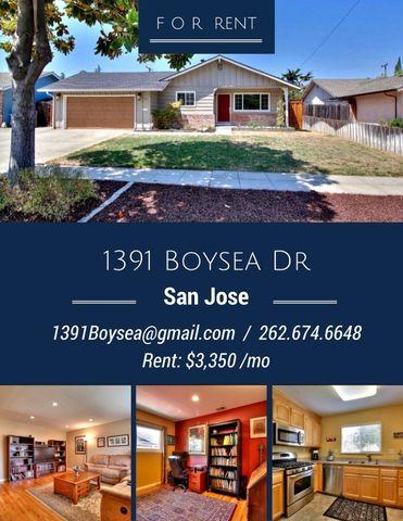 1391 Boysea Dr, San Jose, CA 95118