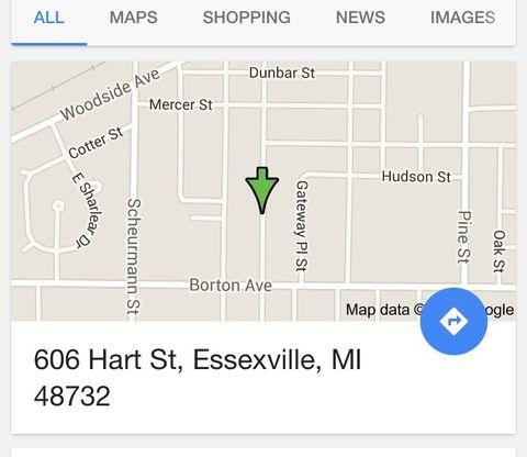 606 Hart St, Essexville, MI 48732