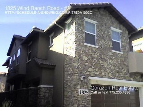 1825 Wind Ranch Rd, Reno, NV 89521