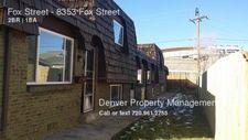 Fox St, Denver, CO 80221