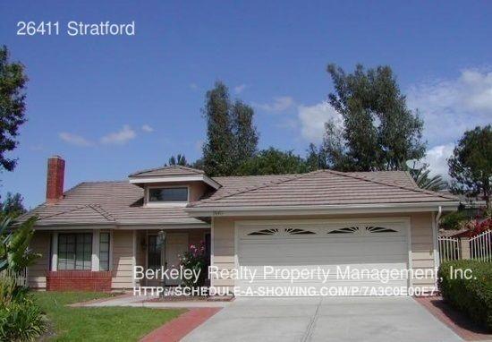 26411 Stratford Lake Forest CA 92630
