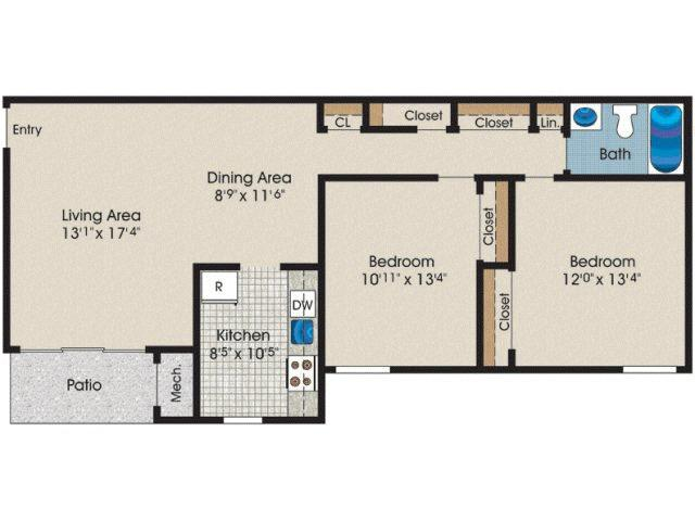 2 bedroom 1 bath 900 sq ft apartment for rent at fox for 900 sq ft apartment floor plan
