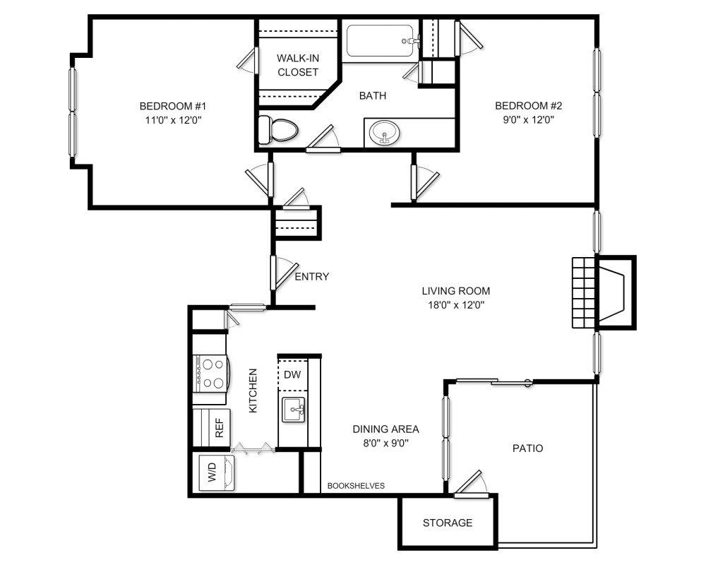 Apartment For Rent At 10303 7th Regiment Dr Manassas Va