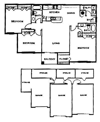 3 bedroom 2 bath 1332 1 680 for 1332 park terrace