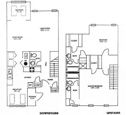 Seven pines apartments alpharetta apartment for rent for One bedroom apartments in alpharetta ga