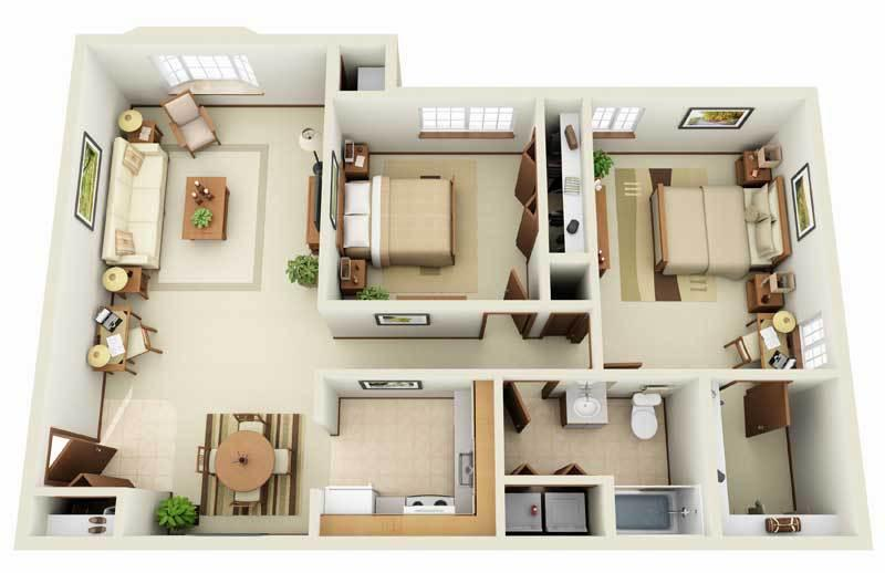 2b1b Apartment For Rent At Forest Meadows Apartments 699