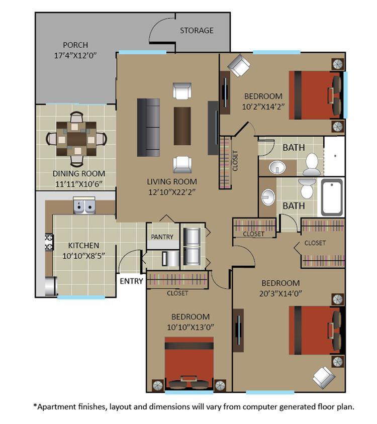 Gables Marbella Boca Raton Apartment For Rent