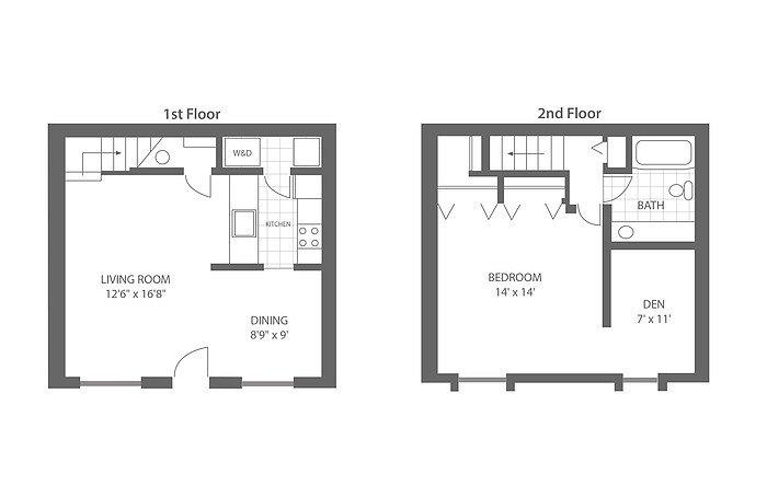 1 Bedroom with Den