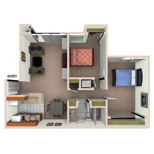 Civic Plaza, Santa Clara. Apartment For Rent