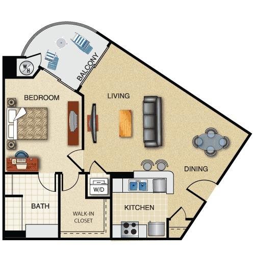 Orsini Apartments Los Angeles: Orsini III, Los Angeles. Apartment For Rent