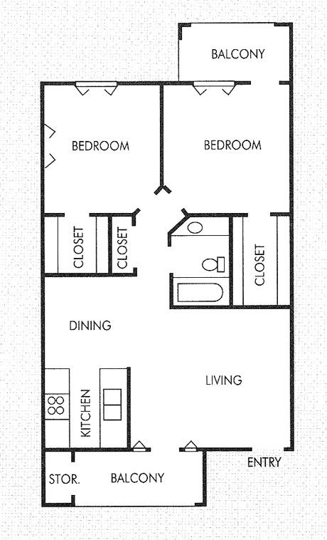 600 Sq Ft Apartment Floor Plan