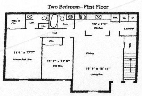 2 Bedroom 1 5 Bath 1190 1 295