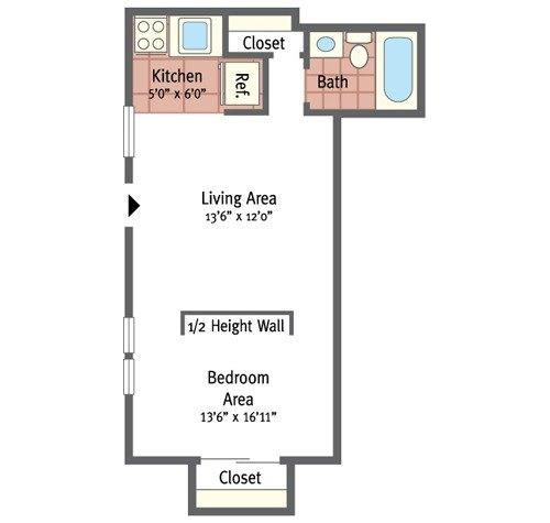 One Bedroom Jr.
