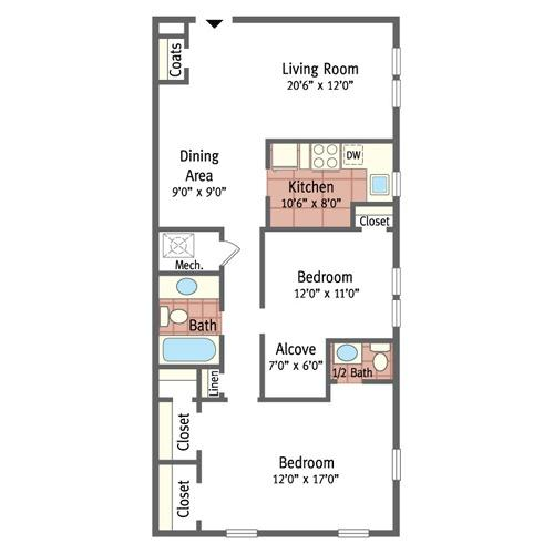 Two Bedroom Grand