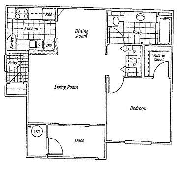 1 Bedroom 1 Bath 703 905