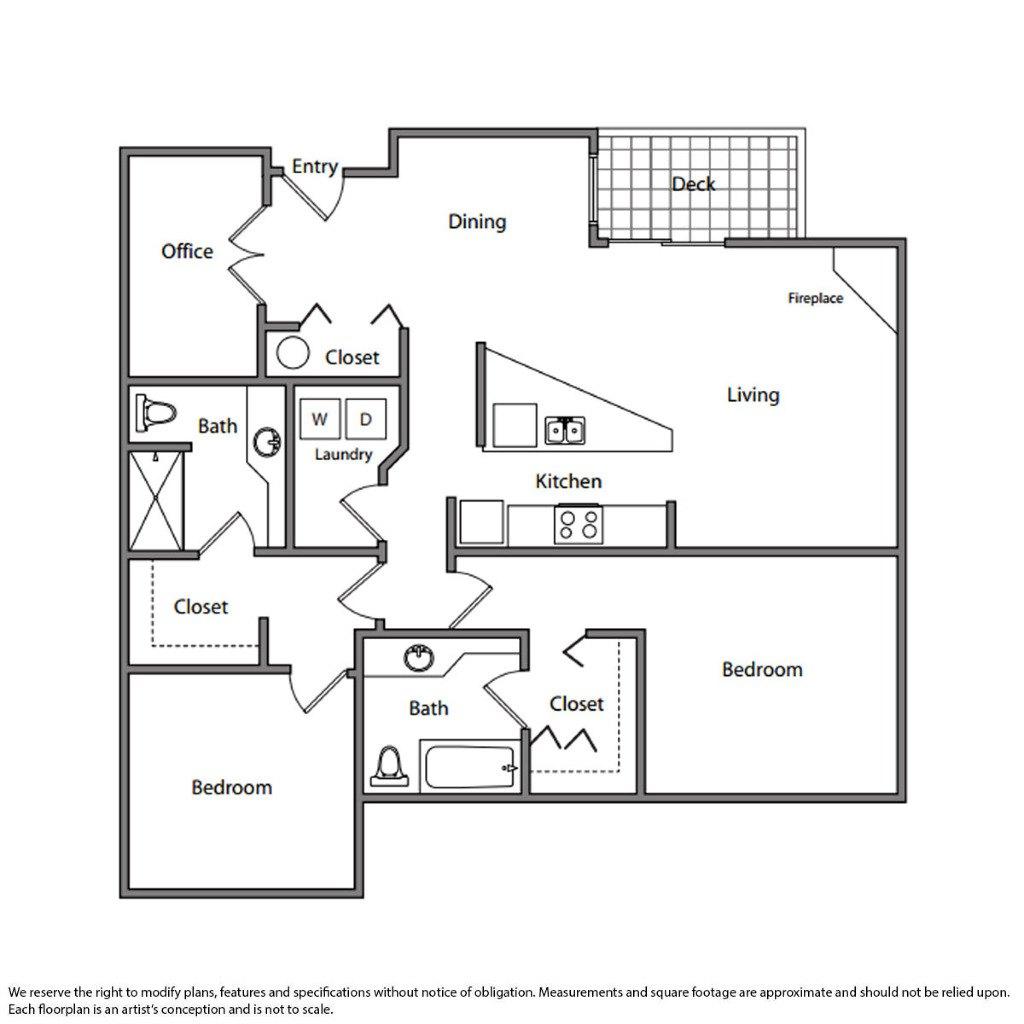 Bravern Apartments: Limestone Court, BELLEVUE. Apartment For Rent