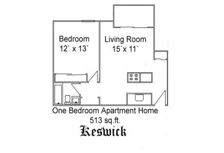 A1 keswick at 250 colonnade drive charlottesville va 250 square foot apartment floor plan