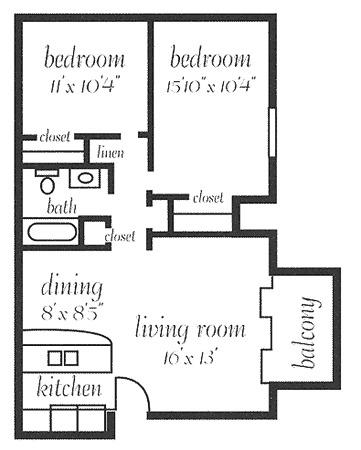 850 sq ft apartment floor plan. 850. home plan and house design ideas