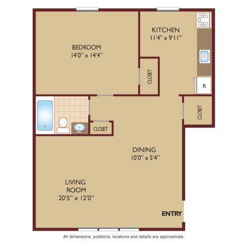 one bedroom found at butler ridge 1607 state route 23