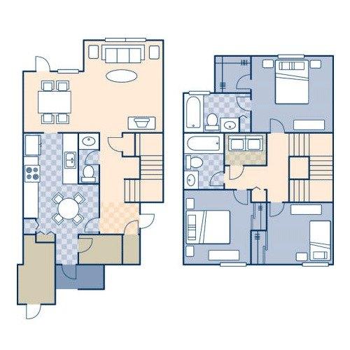 3 bedroom 2 bath 1463 sq ft call
