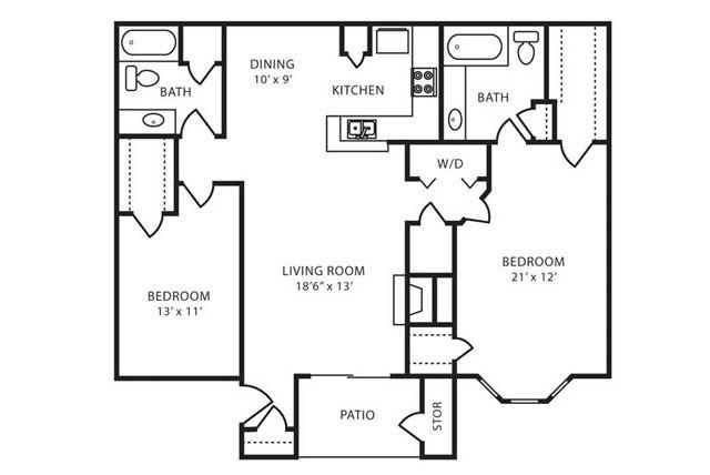Realtor.com Floorplan Image