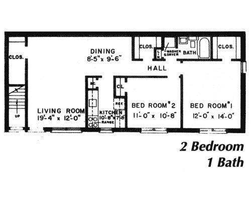 2 Bedroom 1 Bath Apartment For Rent At Roseville House Apartments 401 Eden Road Lancaster Pa