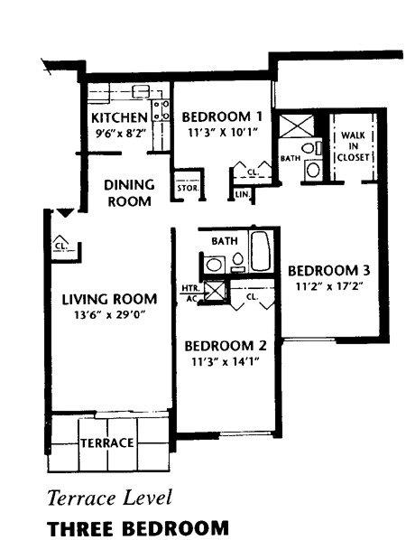 3 bedroom terrace located at summit park communities
