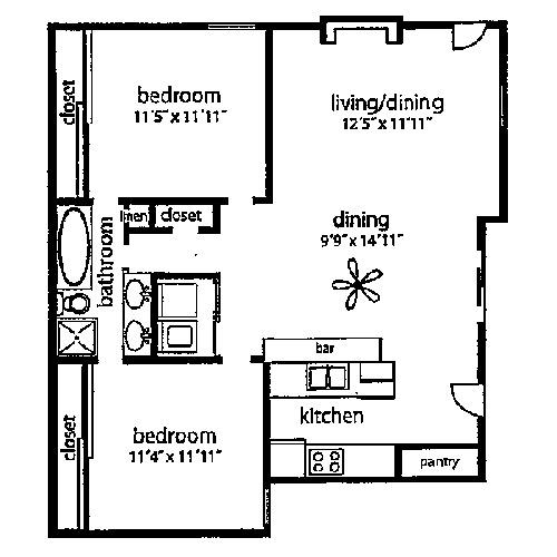 Pleasant Ridge Villas Arlington Apartment Details