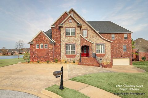 6703 W Turnberry Ct, Rogers, AR 72758