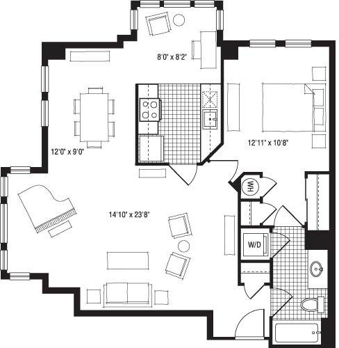 The Clarendon Apartments: The Clarendon, ARLINGTON. Apartment Details, Comments And