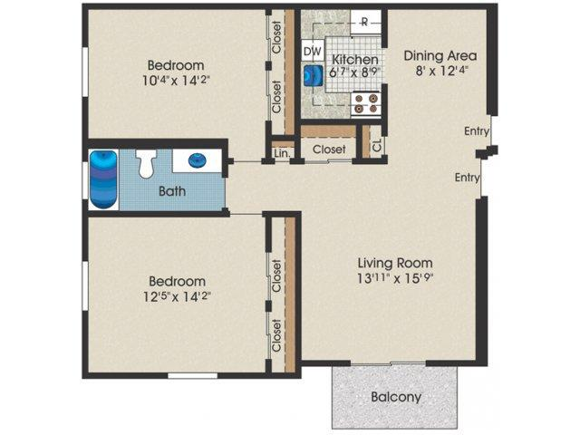 2 bedroom 1 bath 900 sq ft apartment for rent at stone for 900 sq ft floor plans
