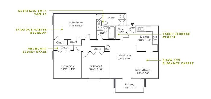 3 Bedroom High-Rise