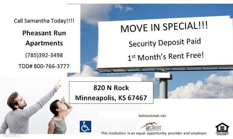 820 N Rock St, Minneapolis, KS 67467