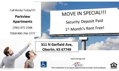 311 N Garfield Ave Apt 18, Oberlin, KS 67749