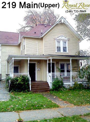 219 S Main St, Mount Clemens, MI 48043