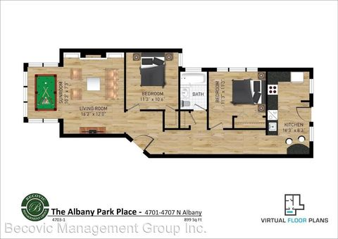 4701 4707 N Albany And 3048 3050 W Leland, Chicago, IL 60625